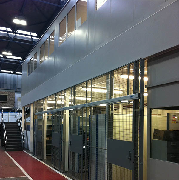Industrial Office Mezzanine Floors Transforms Operations