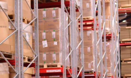 moving pallet racking beams
