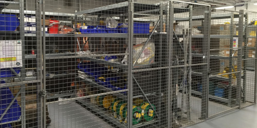 Mesh Partitioning and Cages