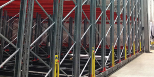 Maxi Cube Mobile Pallet Racking