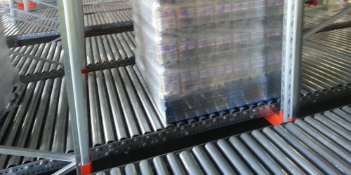 Maxi Cube Live Pallet Racking