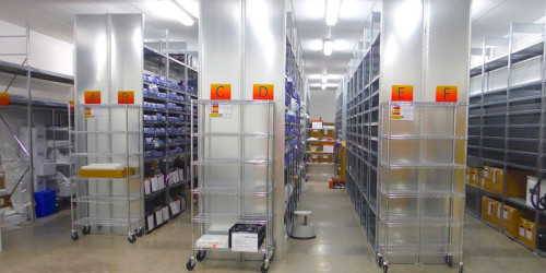 Maxi Cube Industrial Shelving