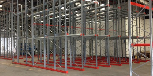 Maxi Cube Drive In Racking