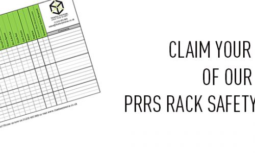 PRRS Rack Safety Checklist Banner
