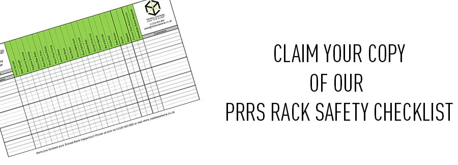 PRRS Rack Safety Checklist Banner