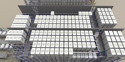 Autocube Automated Racking